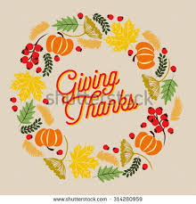 Thanksgiving Vector Art Thanksgiving Wreath Stock Images Royalty Free Images U0026 Vectors