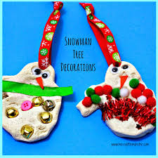 snowman tree decorations