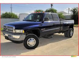 dodge ram 3500 2002 2002 patriot blue metallic dodge ram 3500 slt cab 4x4 dually