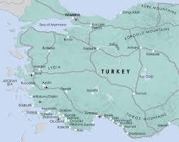 Istanbul Turkey Map Map Turkey Towns To Buy Property In Turkey Spot Blue