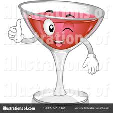 martini cup cartoon cocktail clipart 1108995 illustration by bnp design studio