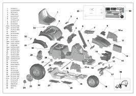 peg perégo john deere e tractor manuals and parts list peg