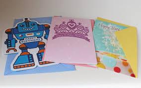 capital b birthday card gift box with hallmark value cards