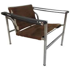Pair Of Lc3 Le Corbusier Black Poltrona Lounge Chairs For Sale At
