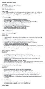 Nursing Student Resume Samples Nurse Resume Objective Examples