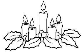 advent wreath coloring pages printable free catholic advent