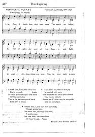 my god i thank thee who hast made hymnary org
