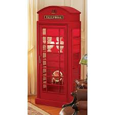Ray Booth Designer Amazon Com Design Toscano British Telephone Booth Display Cabinet