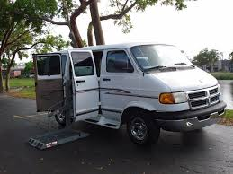 dodge ram vans for sale wheelchair vans for sale used 1999 dodge ram mobilityworks