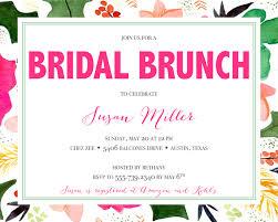 chagne brunch bridal shower invitations inspirational wedding shower invitation gift card wording