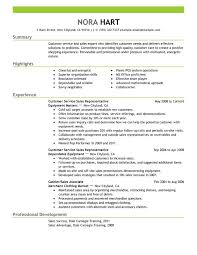 Resume Customer Service Skills Examples by Resume Template Good Customer Service Objective For Within 19
