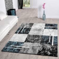 wohnzimmer grau trkis moderner teppich wohnzimmer mit konturenschnitt in grau