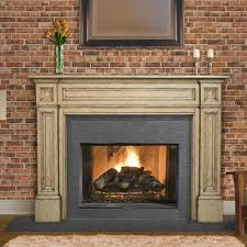 decorations stacked stone fireplace mantels at moder home solid