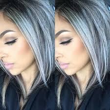 salt and pepper hair colour 25 new gray hair color pinteres
