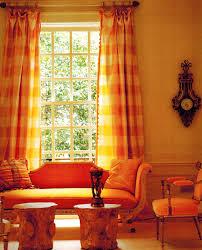 Yellow Kitchen Curtains Orange Kitchen Curtains Designs Windows U0026 Curtains