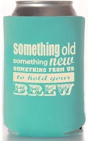 wedding koozie sayings personalized southern state wedding koozies available in several