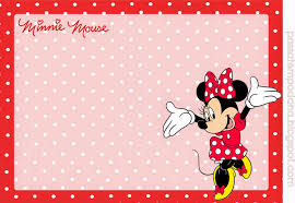 Minnie Invitation Card Minnie Red And White Polka Dots Free Printable Invitations And
