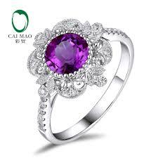 amethyst diamond engagement ring popular amethyst diamond engagement rings buy cheap amethyst