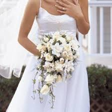 Flower Delivery San Francisco Cascading Bridal Bouquet Colma Florist Funeral Flowers San