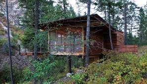 Home Designer Architectural Review by Wood Cabin By Andersson Wise Architects Polson Montana Usa