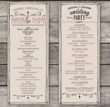 design wedding programs 15 best images about invitations programs on