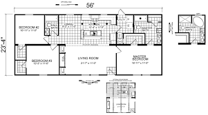 Double Wide Mobile Home Floor Plans Hildebrand 24 X 56 1305 Sqft Mobile Home Factory Expo Home Centers