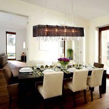 Rectangular Chandelier With Crystals Rectangular Crystal Chandelier Dining Room Justsingit Com