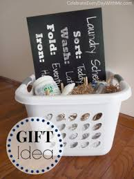themed gift laundry themed gift basket and the only detergent tara will use