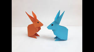 how to make a paper rabbit youtube