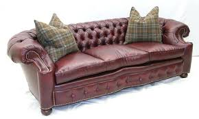 Tufted Brown Leather Sofa Tufted Brown Chesterfield Top Grain Leather Sofa Cross Jerseys