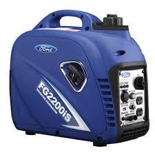 2 000 watt gasoline powered manual start portable inverter