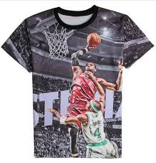 2016 new arrive s 3d t shirt graphic print lebron