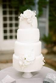 white wedding cake all white wedding cakes brides