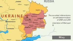 Map Ukraine Ukraine Ato Map Youtube