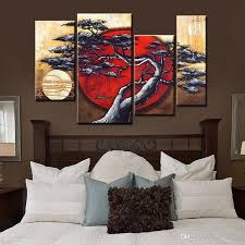 2017 100 hand painted group canvas oil painting japanese style