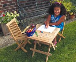children s outdoor table and chairs ashdown childrens garden table and chairs set teak outdoor patio 2
