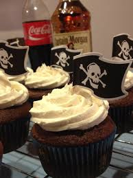 dirty pirate rum and coke cupcakes buicupcakes
