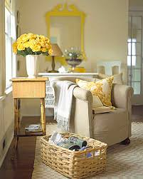 decorating with yellow and orange martha stewart