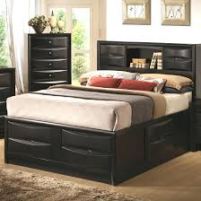 White Queen Platform Bed With Storage Bedroom Outstanding King Size Platform Bed With Headboard Gray