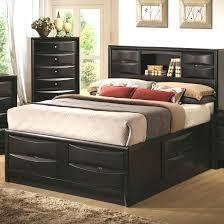 Platform Bed Headboard Bedroom Outstanding King Size Platform Bed With Headboard Gray
