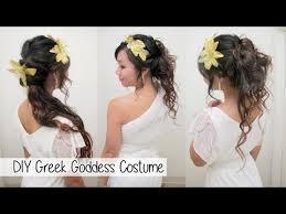 50 theme costumes hairdos diy greek goddess costume l hair accessories no sew toga youtube