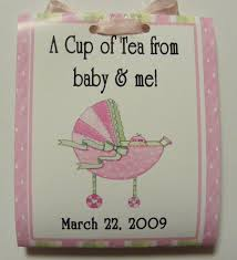 tea bag party favors 12 baby shower cravings tea bag party favors