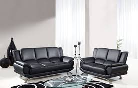 Loveseat Black Leather Leather Sofa Sofa Sets Loveseat Chair Leather Furniture At