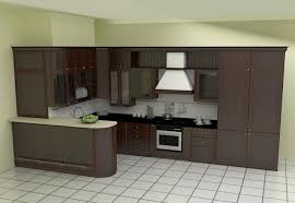 kitchen design black and white appliances dark wood l shaped kitchen designs black and white