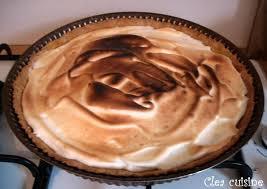 clea cuisine tarte citron tarte au citron meringuée clea cuisine