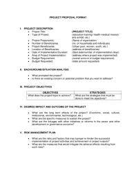 6 project proposal templates u2013 proposal template