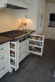 storage kitchen ideas kitchen spice drawer ideas pictures galley kitchen for galley