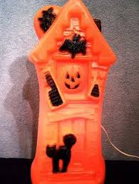 Vintage 1969 Empire Halloween Haunted House Blow Mold Blowmold
