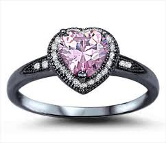 pink wedding rings 22 black and pink wedding rings designs trends design trends