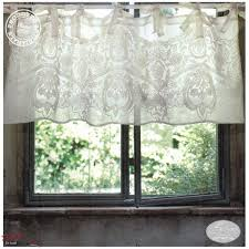Shabby Chic Voile Curtains by